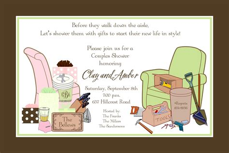 Bridal Shower Couples Wedding Shower Invitations Card Invitation Templates Card Invitation Couples Wedding Shower Invitations Templates Free