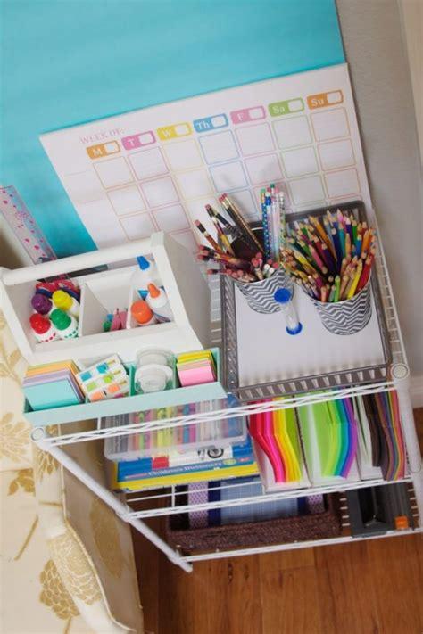 Kitchen Drawer Organizer Ideas Diy Back To Homework Stations Landeelu Com