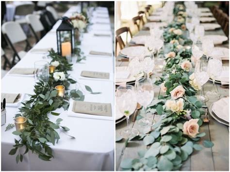 rustic wedding table decorations 18 rustic greenery wedding table decorations you will