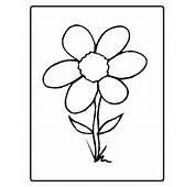 Dibujo Flor Para Colorear  AZ Dibujos