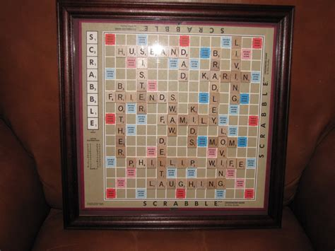wall scrabble personalized scrabble board wall framed picture home