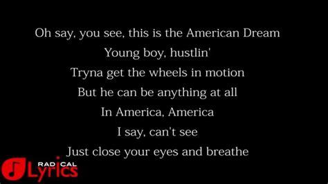An American Lyrics Rihanna American Oxygen Lyrics
