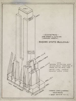 layout of the empire state building rare architectural drawings for sale the empire state