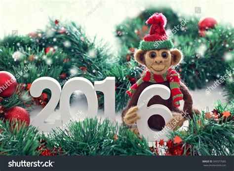 new year of the monkey decorations new year 2016 the year of the monkey monkey