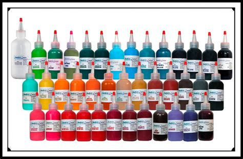 starbrite tattoo ink sets bicknee tattoo supply