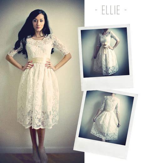 robe vintage dentelle blanche