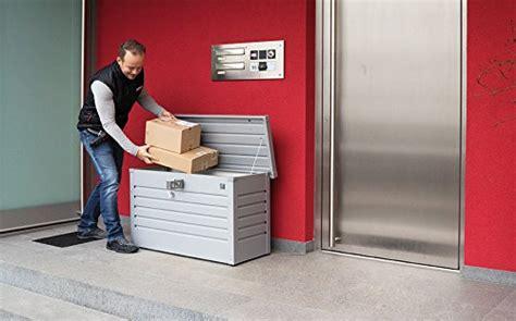 m lltonnenbox mit paketbox paketkasten selber bauen paketkasten selber bauenhausspez