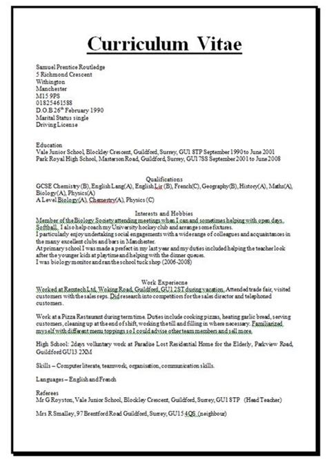 how are your cv writing skills find out by helping