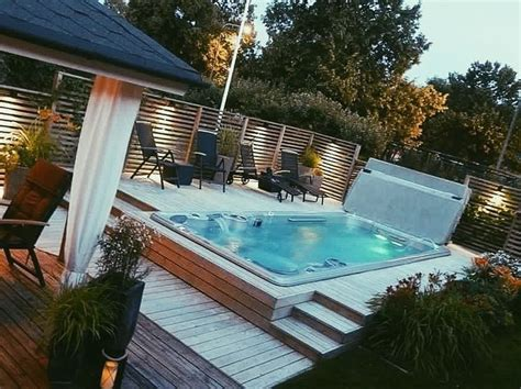 Backyard Exercise Pools Best 25 One Level Homes Ideas On