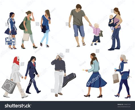 figure images human figures on white stock vector illustration 74467210