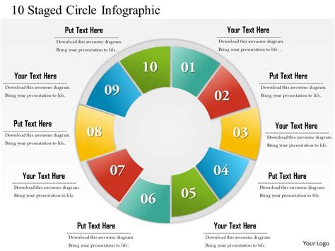 Timeline Infographics Templates For Powerpoint 0714 business consulting 10 staged circle infographic