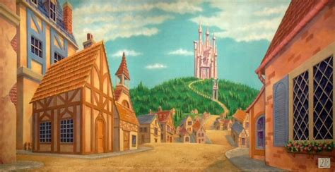 beauty and the beast town beauty and the beast town and castle perfect theme