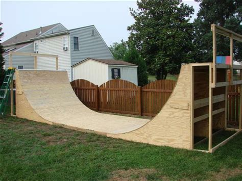 backyard halfpipe 28 images build a halfpipe in