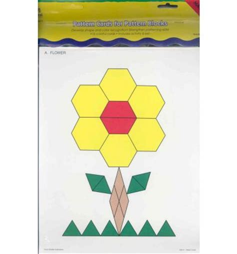 pattern block cards pattern cards for pattern blocks set activity cards
