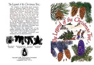 forester artist legend of the christmas tree