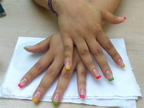 imagenes de uñas acrilicas de un solo color u 241 as acrilicas nicanails