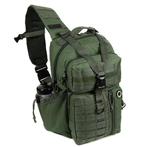 tactical sling backpacks mens tactical gear molle hydration ready sling shoulder