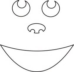 happy pumpkin template free printable smiley templates for crafts