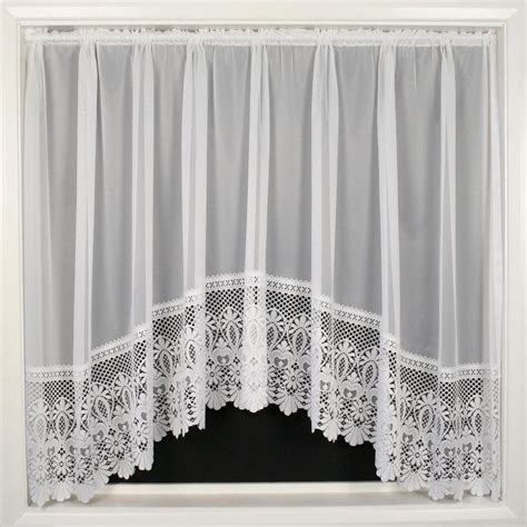 heavy lace curtains brazil jardiniere plain net curtain with heavy lace base