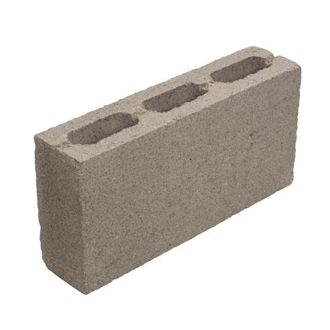 X 16 4 In shop standard cored concrete block common 4 in x 8 in x