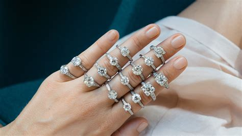 vintage solitaire engagement rings erstwhile jewelry