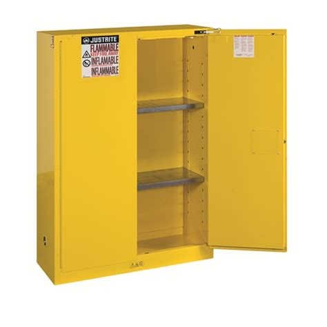 Self Closing Cabinets by Justrite 894520 45 Gal Self Closing Cabinet Ebay