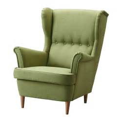 Fabric Chair Covers For Dining Room Chairs Strandmon Wing Chair Skiftebo Green Ikea