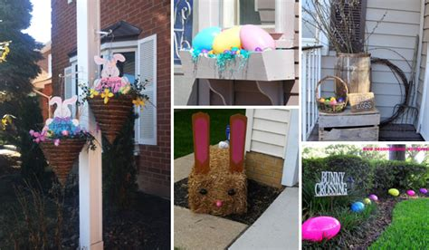 Outdoor Yard Decorating Ideas 27 Easy And Low Budget Crafts To Make This Easter