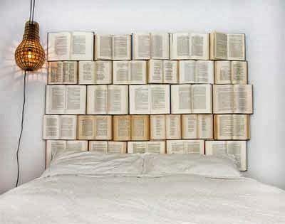 imagenes extraordinarias diy decoraci 243 n hacer un cabecero de cama con libros