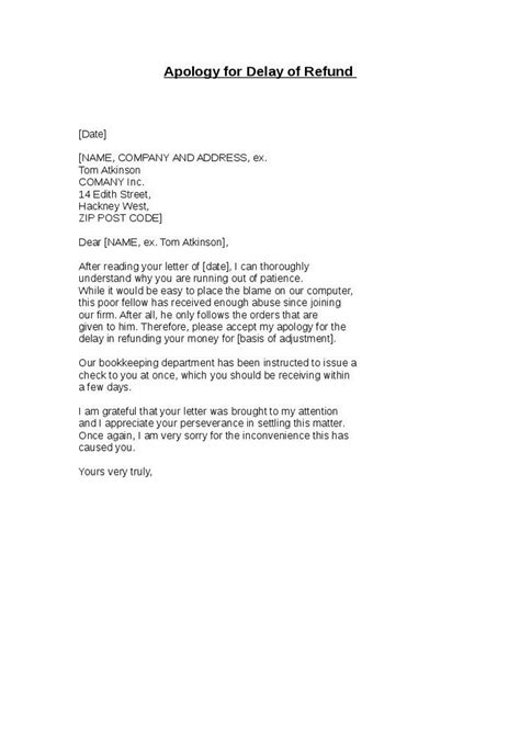 business letter sle of apology business apology letter sle delay 28 images business