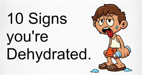 10 Signs That You May Suffer From Hurry Sickness by Beautiful Quotes 10 Common Signs Of Dehydration Number 3