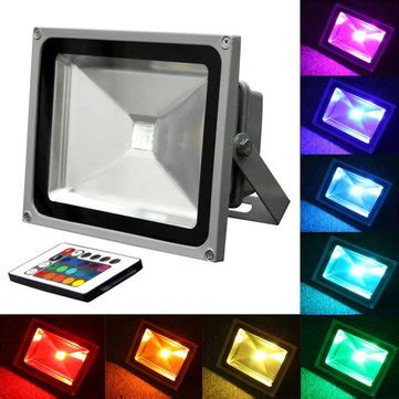 outdoor color changing led flood lights 20w rgb color changing outdoor remote led flood