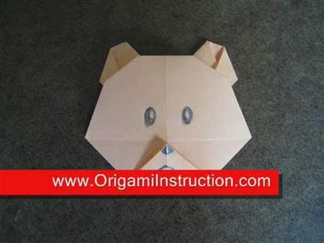 How To Make Paper Teddy - origami origami teddy