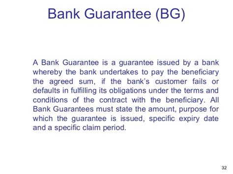 Letter Of Guarantee In Bangladeshi Bank Presentation Overview Of Bank Audit