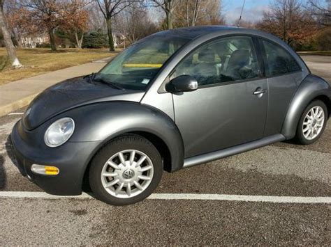 how to learn about cars 2005 volkswagen new beetle interior lighting sell used 2005 vw beetle tdi turbo diesel in saint peters missouri united states