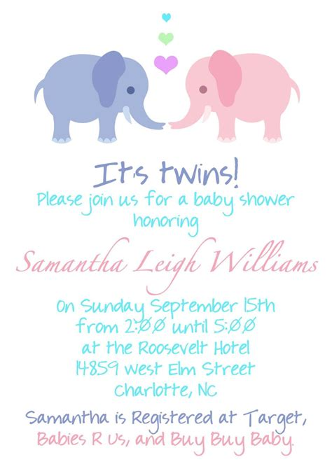 free printable baby registry cards online baby announcement