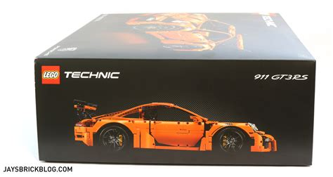 lego technic porsche 911 gt3 rs unboxing the lego technic 42056 porsche 911 gt3 rs