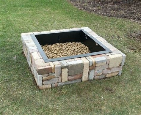 Menards Rustic Fire Pit Outdoors Garden Pinterest Menards Firepit