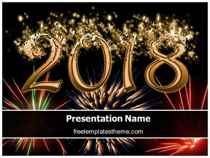 Free 2018 New Year Eve Powerpoint Template Freetemplatestheme Com New Year Powerpoint Template