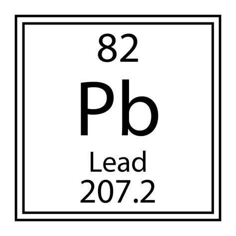 Pb Element Periodic Table by Lead Detection Chemsee