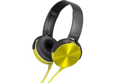 Murah Headphone Sony Mdr Xb 450 Xb450 Xb 450 Bass 1 buy headset sony mdr xb450 yellow on the ear headphone iterials