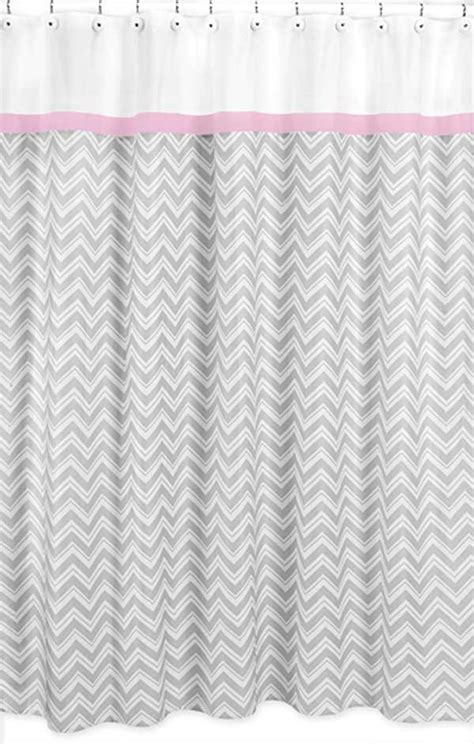 pink and gray chevron curtains zig zag pink gray chevron print shower curtain blanket