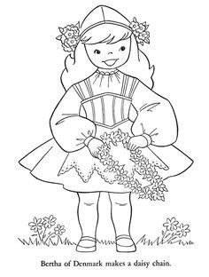 switzerland coloring pages for kids | Children of Other