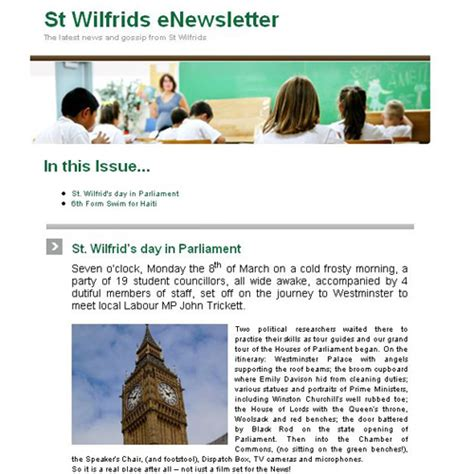 great exles of newsletters book covers