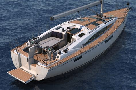 Wood Cabin Floor Plans bavaria vision 42 specifications clipper marine
