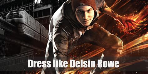 delsin rowe infamous  son costume  cosplay
