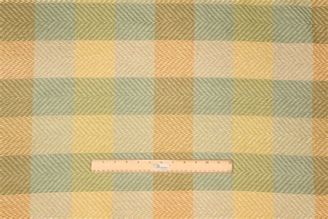 all upholstery mccarthy chenille plaid upholstery fabric