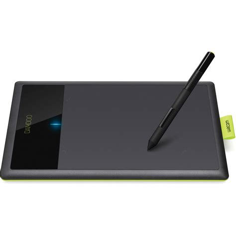 Tablet Wacom Intuos wacom bamboo connect digital tablet black green ctl470 b h
