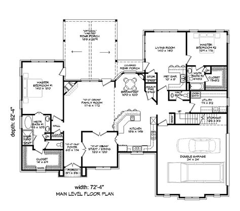 3500 sq ft house plans 4 bedrm 3500 sq ft tudor house plan 196 1021