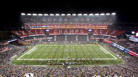 Gillette Stadium Box Office by Stadium Card Stunts By Kivett Producions